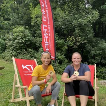 KariTraa run je vhodný i pro úplné začátečníky říkají kamarádky Chan Trang a Eva Peterková